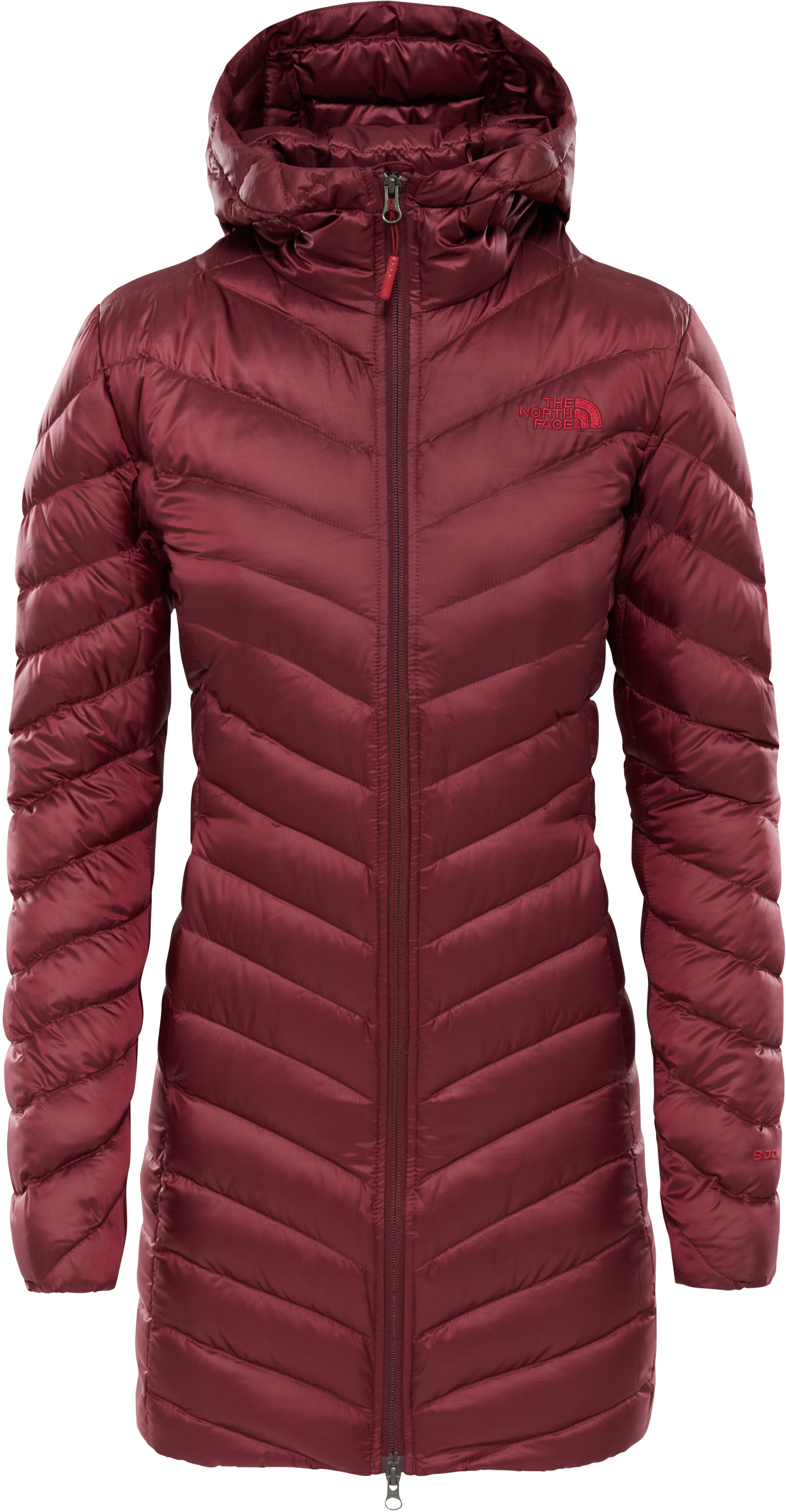 a2c8f2e38a070 The North Face Trevail - Chaqueta Mujer - rojo